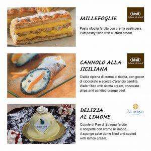 dolci al ristorante A' Tarantella